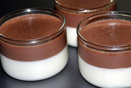 Сметанно шоколадное желе рецепт с фото